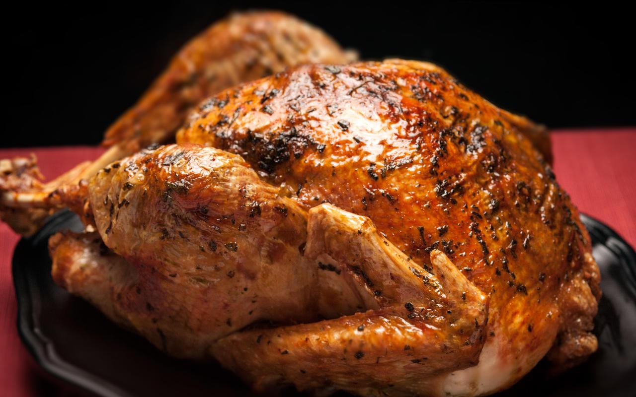 Oven Turkey Recipes Thanksgiving  Roast Turkey with Herb Gravy Recipe Chowhound