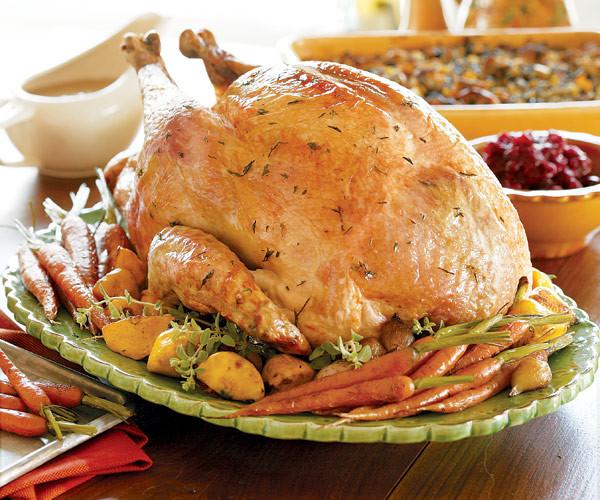 Oven Turkey Recipes Thanksgiving  Juicy Roast Turkey Recipe FineCooking
