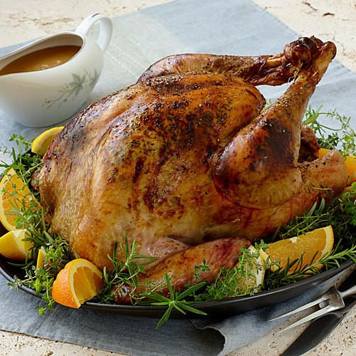 Oven Turkey Recipes Thanksgiving  California Roast Turkey and Gravy FineCooking