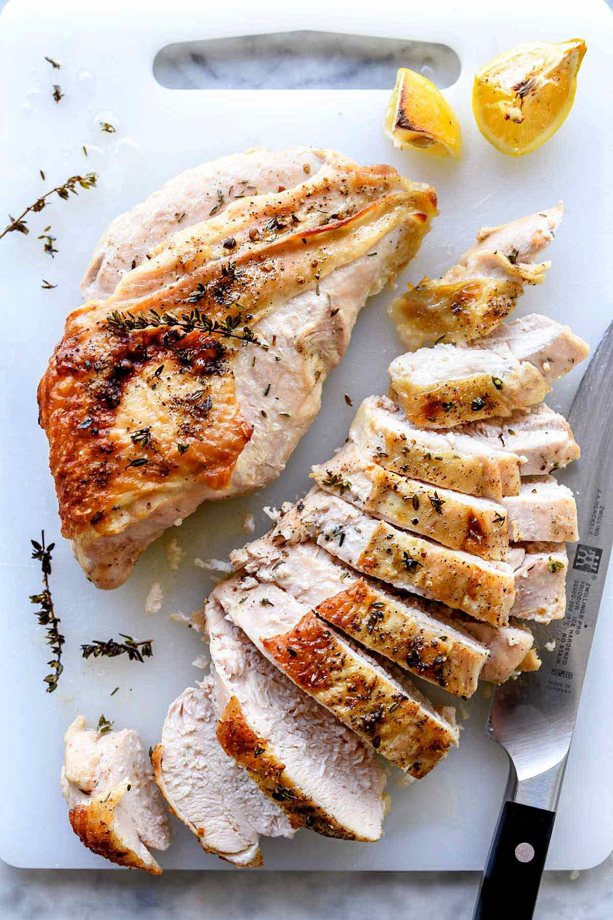 Oven Turkey Recipes Thanksgiving  The Secret to Juicy Roast Turkey Breast