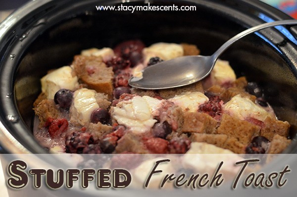Overnight Crock Pot French Toast Great For Christmas Morning  Crock Pot Stuffed French Toast Humorous Homemaking