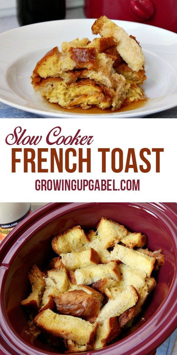 Overnight Crock Pot French Toast Great For Christmas Morning  Best 25 Crock pot french toast ideas on Pinterest