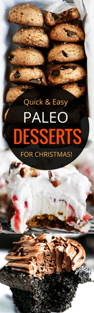 Paleo Christmas Desserts  Easy Paleo Christmas Dessert Recipes Paleo Gluten Free Eats