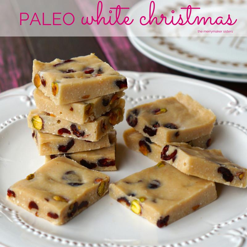 Paleo Christmas Desserts  Paleo White Christmas Slice