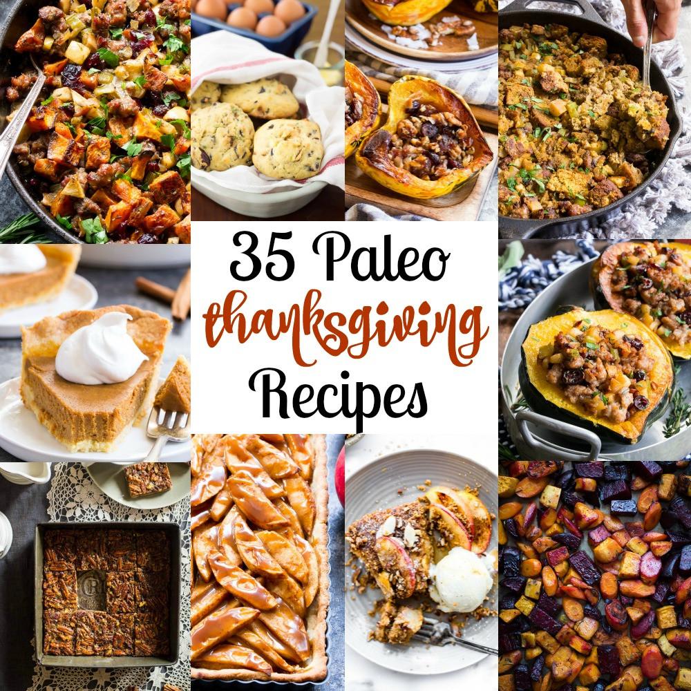 Paleo Thanksgiving Sides  35 Paleo Thanksgiving Recipes GF DF Refined Sugar Free