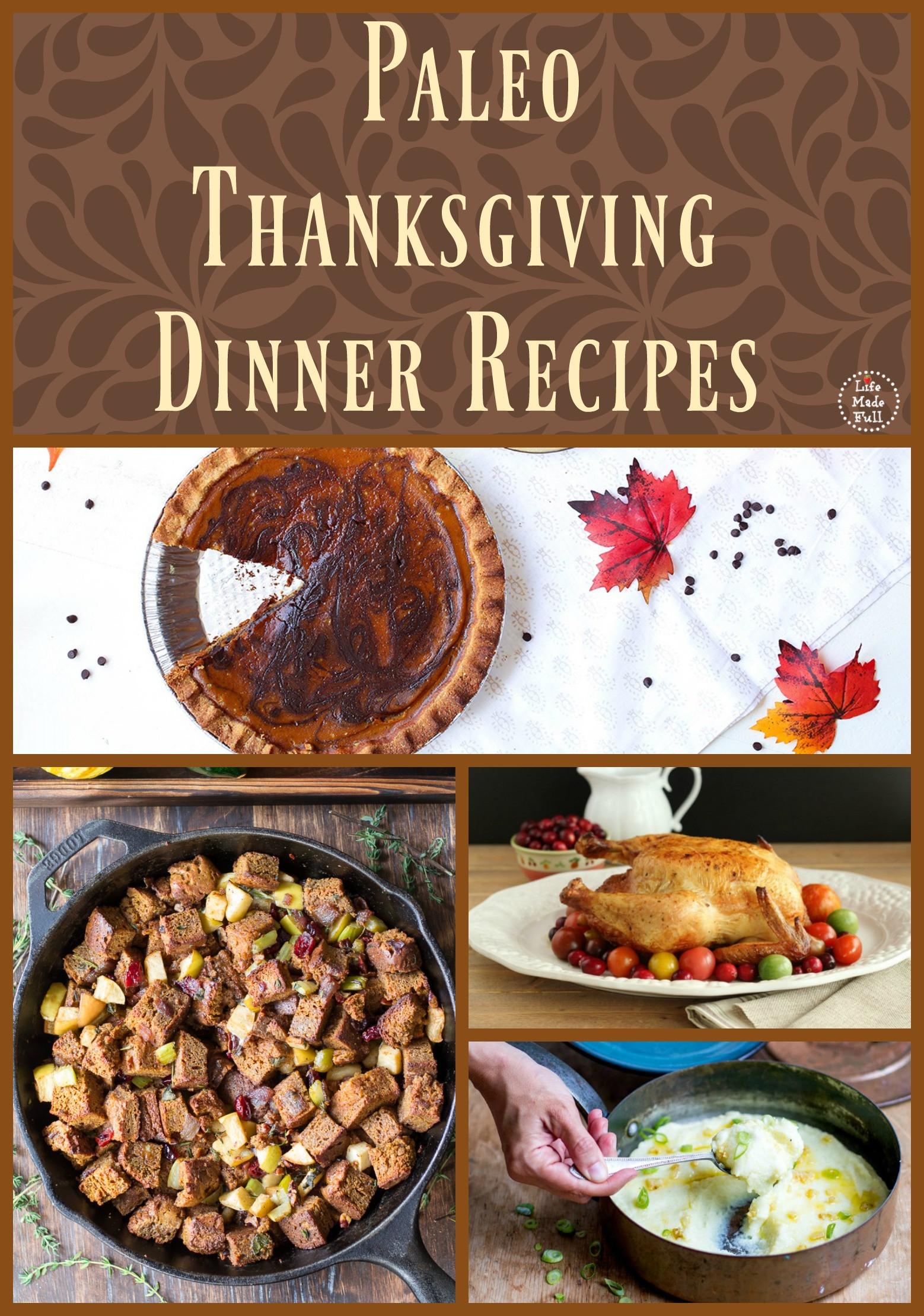 Paleo Thanksgiving Sides  thanksgiving Life Made Full