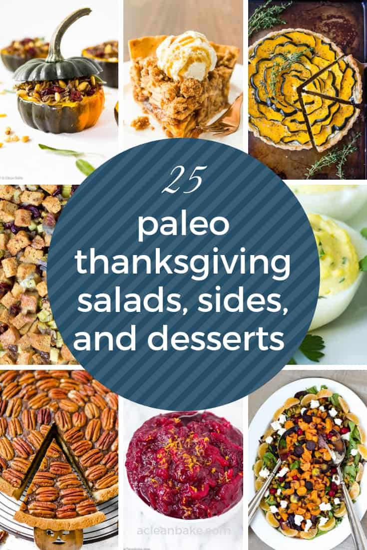 Paleo Thanksgiving Sides  25 Paleo Thanksgiving Recipes for Appetizers and Side Dishes