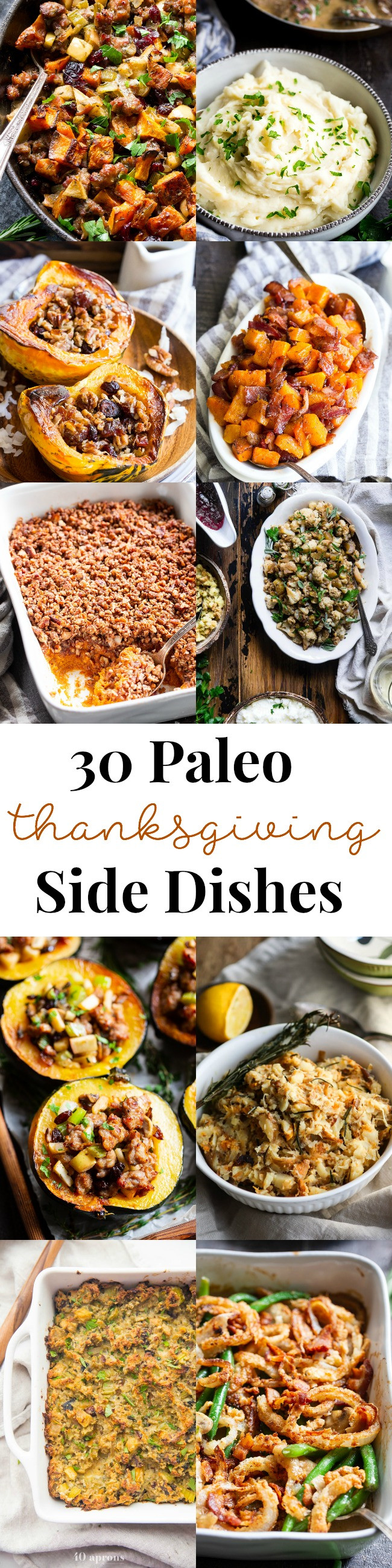 Paleo Thanksgiving Sides  30 Paleo Thanksgiving Side Dishes