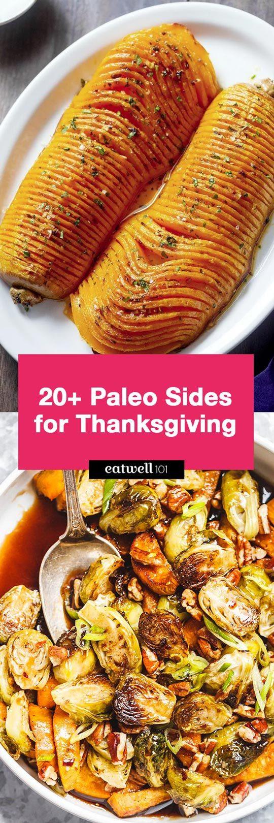 Paleo Thanksgiving Sides  Paleo Thanksgiving Side Dishes 21 Paleo Thanksgiving Side