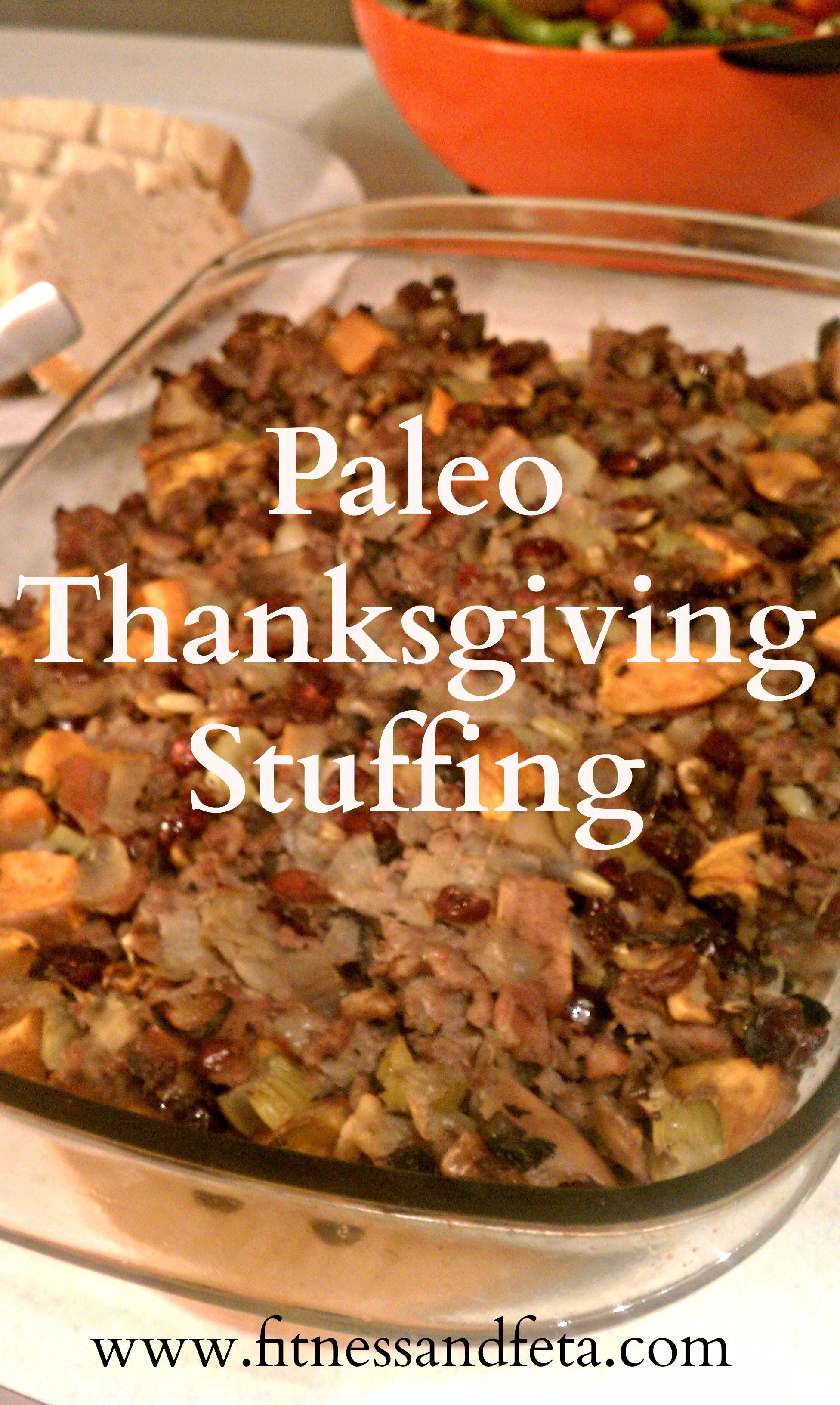 Paleo Thanksgiving Stuffing  Paleo Thanksgiving Stuffing