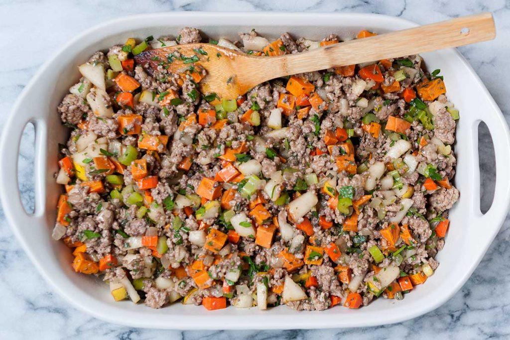 Paleo Thanksgiving Stuffing  Sweet Potato & Pork Thanksgiving Stuffing Paleo Gluten