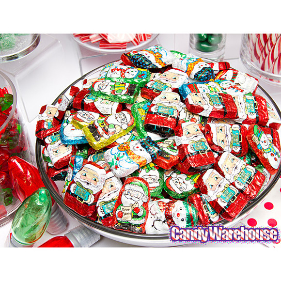 Palmer Christmas Candy  Palmer Foiled Mini Chocolate Crisp Kringles Candy 4LB Bag