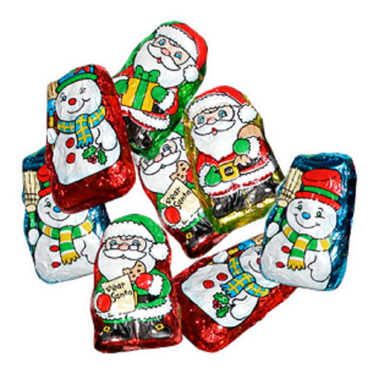 Palmer Christmas Candy  Palmer Santas and Helpers 5 lb Bag
