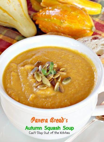 Panera Bread Christmas Hours  Panera Bread s Autumn Squash Soup