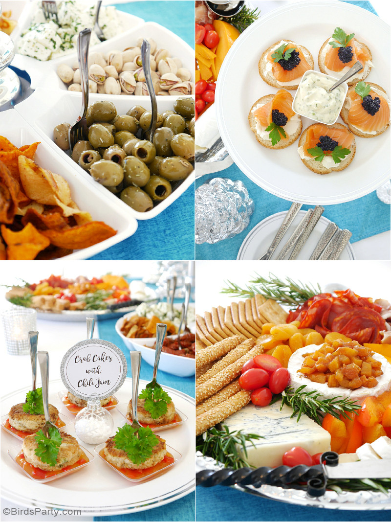 Party Appetizers Christmas  Hosting a Holiday Cocktail & Appetizers Party Party