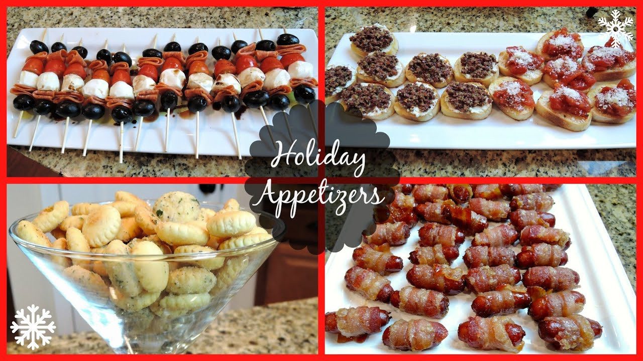Party Appetizers Christmas  HOLIDAY PARTY APPETIZERS