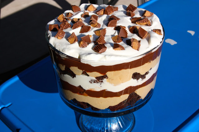 Paula Dean Christmas Desserts  My Recipe Box Peanut Butter Brownie Trifle