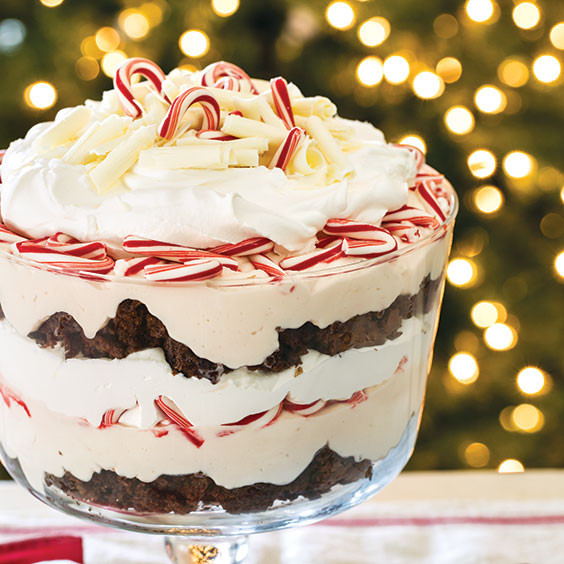Paula Dean Christmas Desserts  Peppermint Trifle Recipe Cooking with Paula Deen