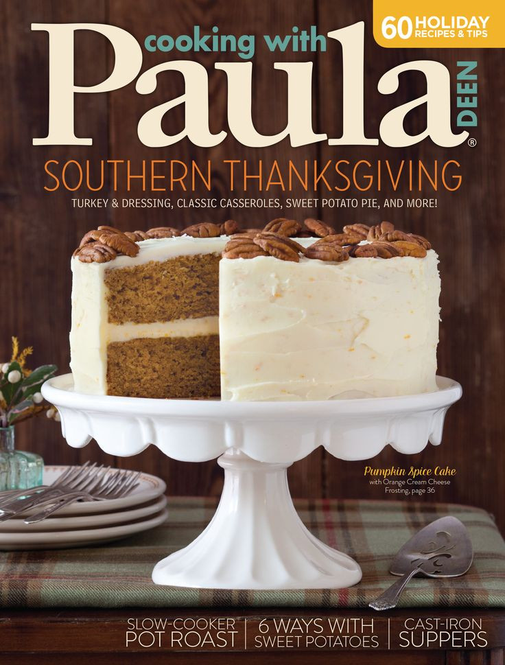 Paula Deen Thanksgiving Desserts  18 best Paula Deen Magazines images on Pinterest