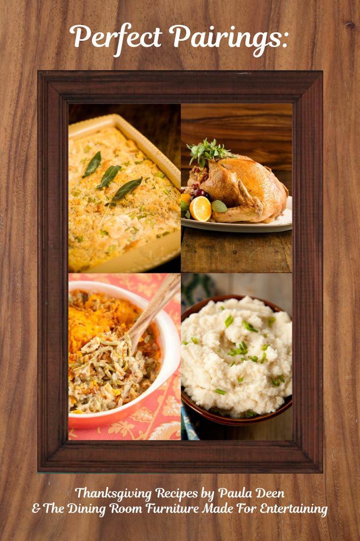 Paula Deen Thanksgiving Desserts  Perfect Pairings Thanksgiving Recipes by Paula Deen