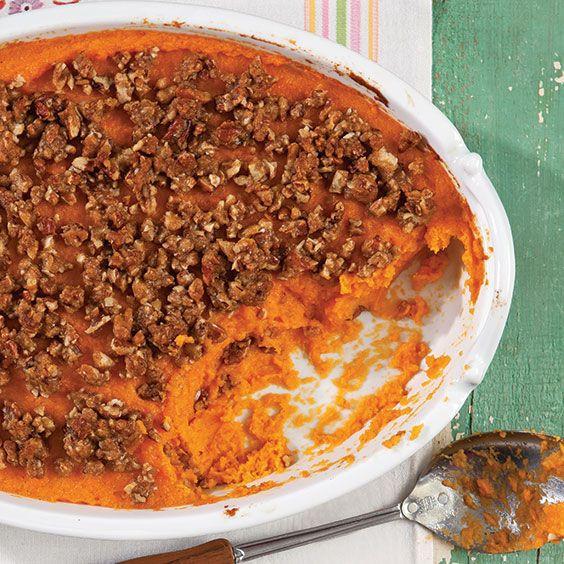 Paula Deen Thanksgiving Side Dishes  Sweet Potato Casserole Recipe Cooking with Paula Deen
