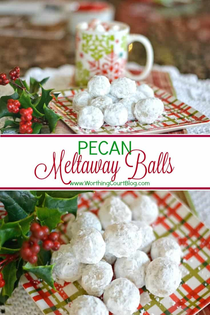 Pecan Balls Christmas Cookies  Free Cute Christmas Place Card Printable Worthing Court
