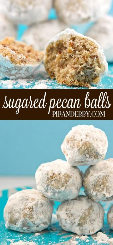 Pecan Balls Christmas Cookies  Sugared Pecan Balls Recipe