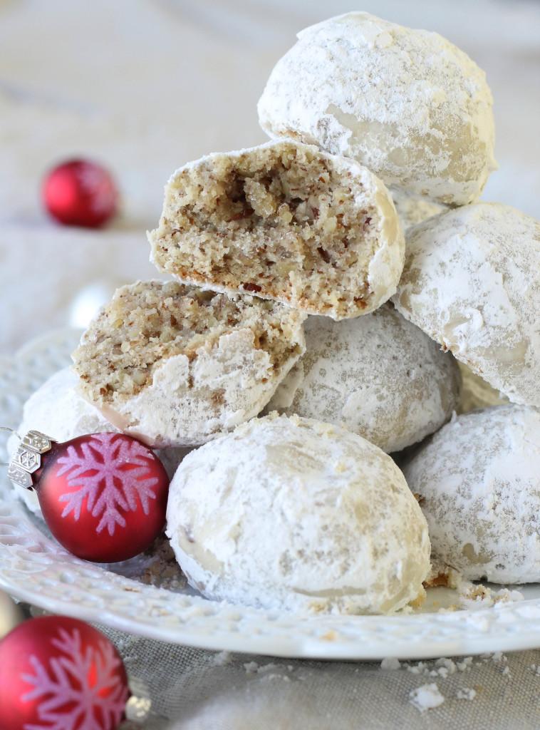 Pecan Christmas Cookies  Pecan Snowball Cookies American Heritage Cooking