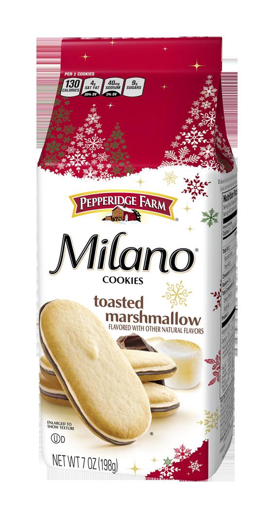 Pepperidge Farm Christmas Cookies  Pepperidge Farm released a new type of Milano cookie that