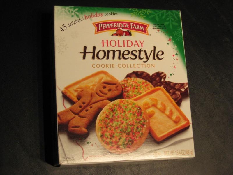 Pepperidge Farm Christmas Cookies  Review Pepperidge Farm Holiday Homestyle Cookie