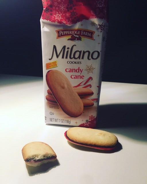 Pepperidge Farm Christmas Cookies  REVIEW x2 Pepperidge Farm Candy Cane Milano & Milano