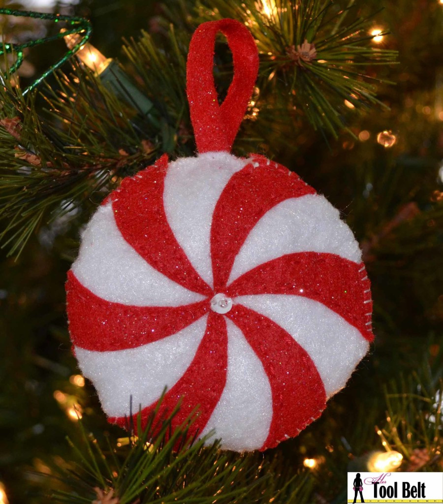 Peppermint Candy Christmas Ornaments  4th Day of Christmas Peppermint Candy Ornament Her