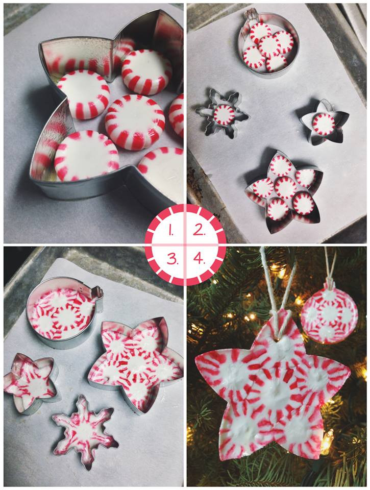 Peppermint Candy Christmas Ornaments  First Pinterest Review Making Peppermint Candy Ornaments