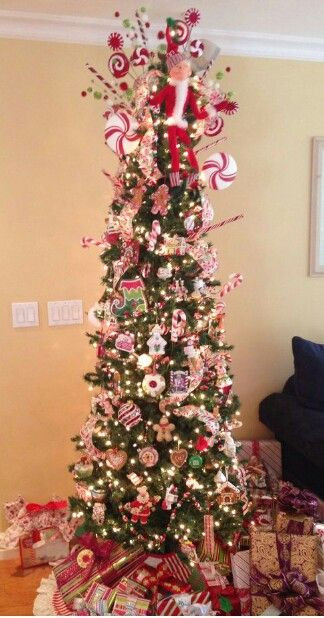 Peppermint Candy Christmas Tree  Best 25 Peppermint christmas decorations ideas on