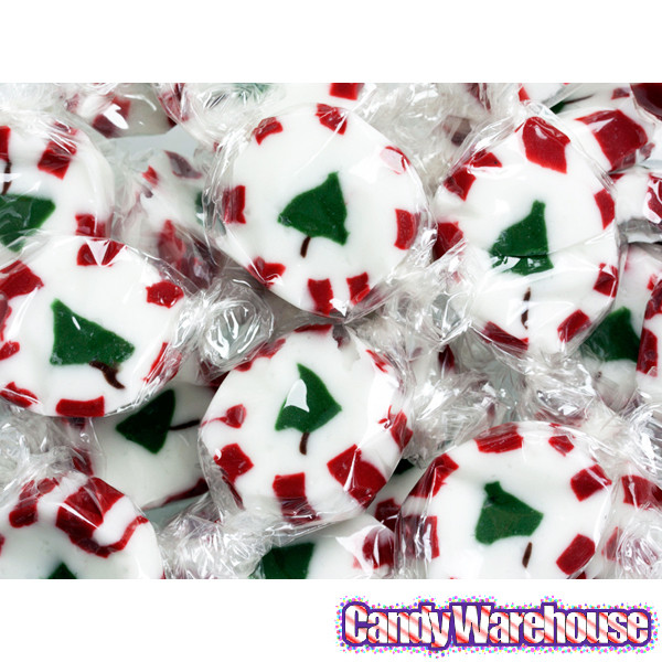 Peppermint Candy Christmas Tree  Brach s Peppermint Christmas Tree Nougats 40 Piece Bag