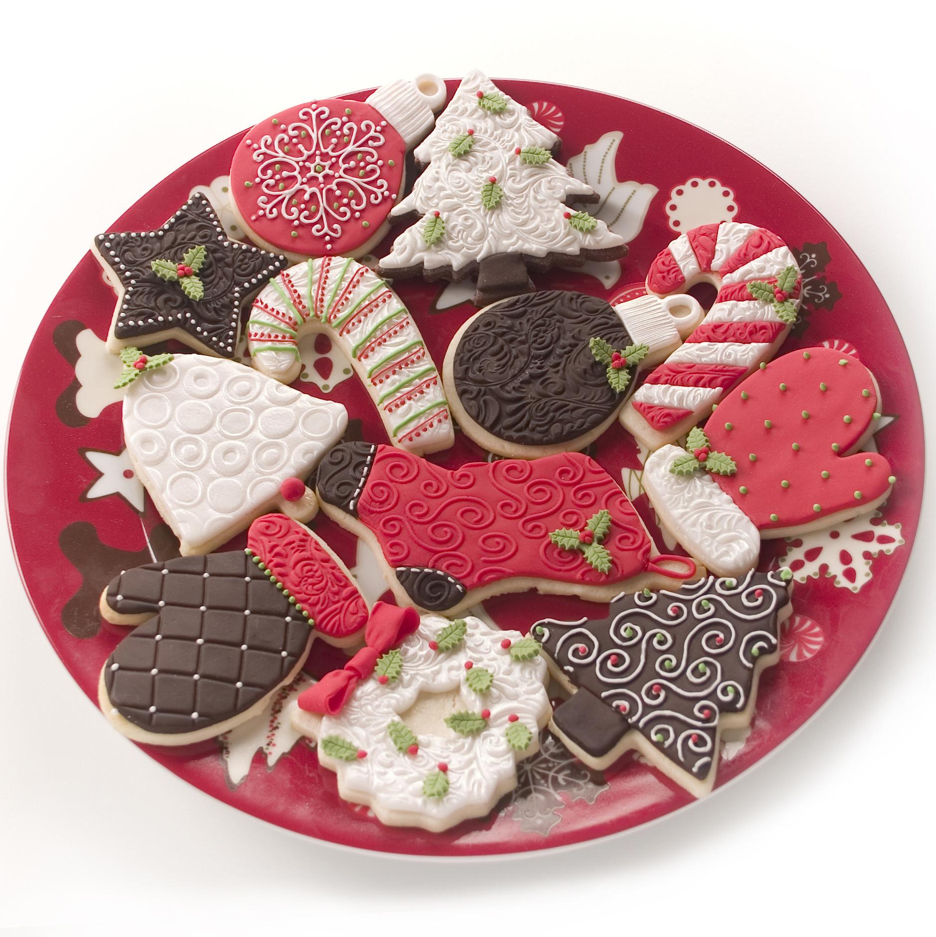 Pics Of Christmas Cookies  Holiday cookies