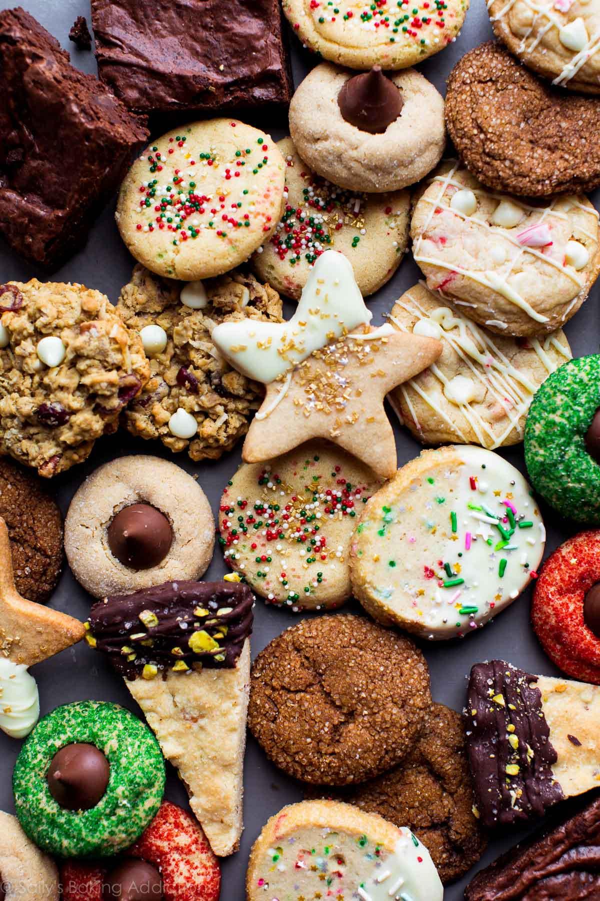 Pics Of Christmas Cookies  50 Fun and Festive Christmas Cookies Sallys Baking