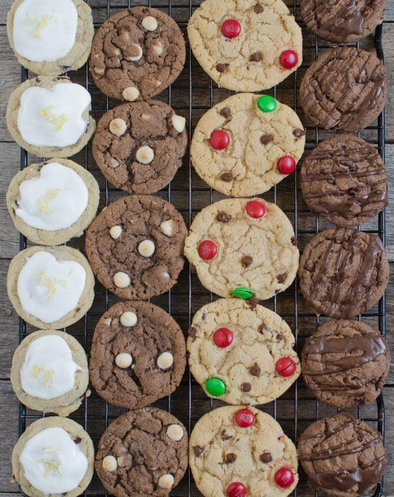 Pics Of Christmas Cookies  1 Dough 4 Christmas Cookie Recipes
