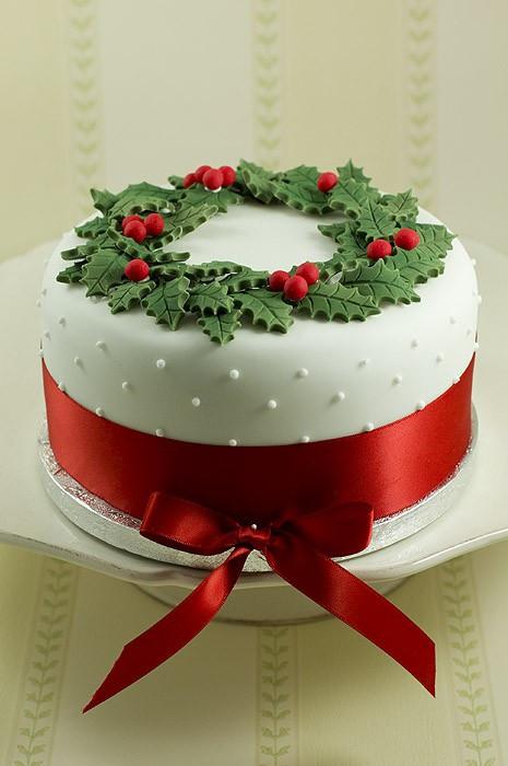Picture Of Christmas Cakes  Christmas cake Christmas Fanpop