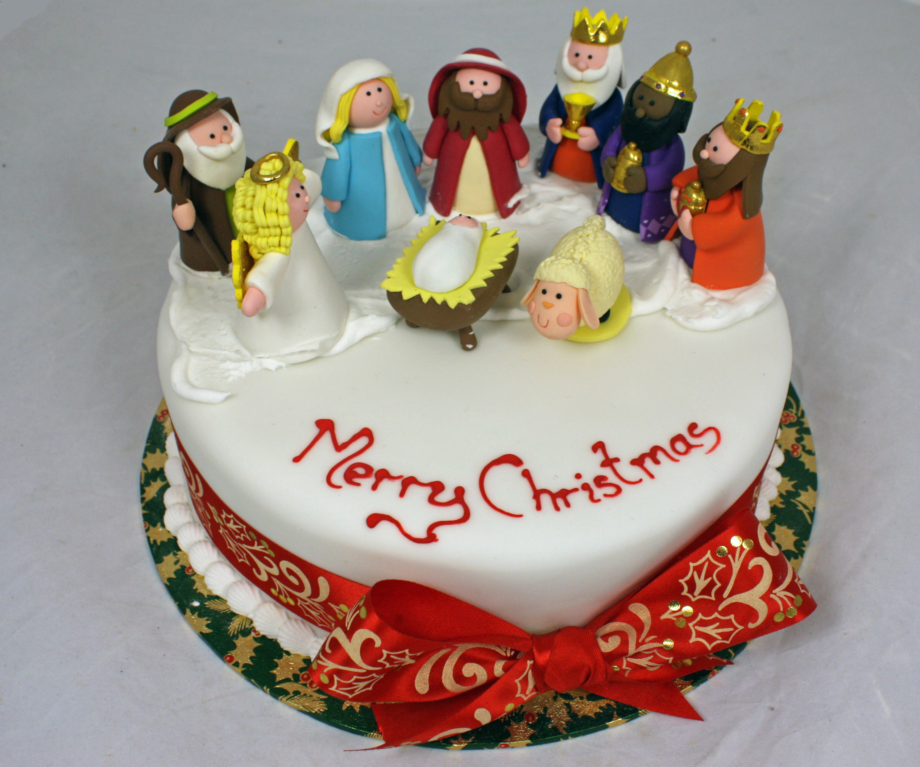 Picture Of Christmas Cakes  christmas cakes