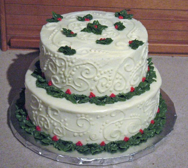 Picture Of Christmas Cakes  Pool Christmas Cakes