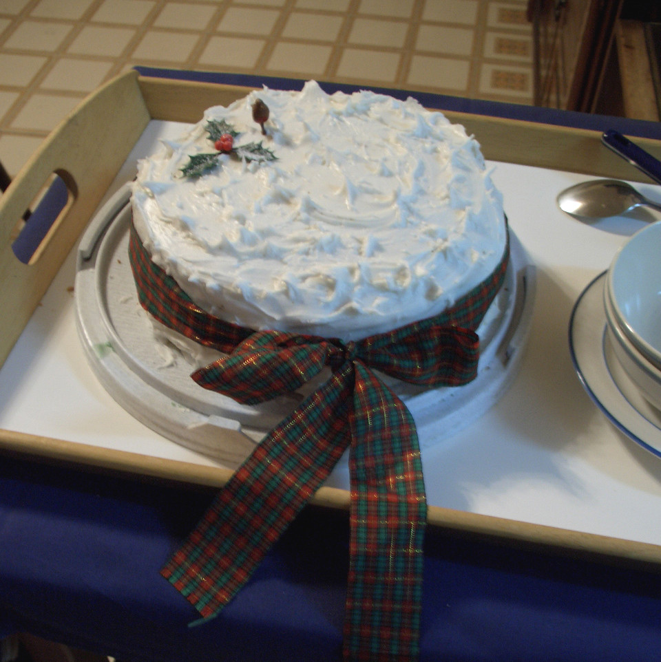 Picture Of Christmas Cakes  Christmas cake