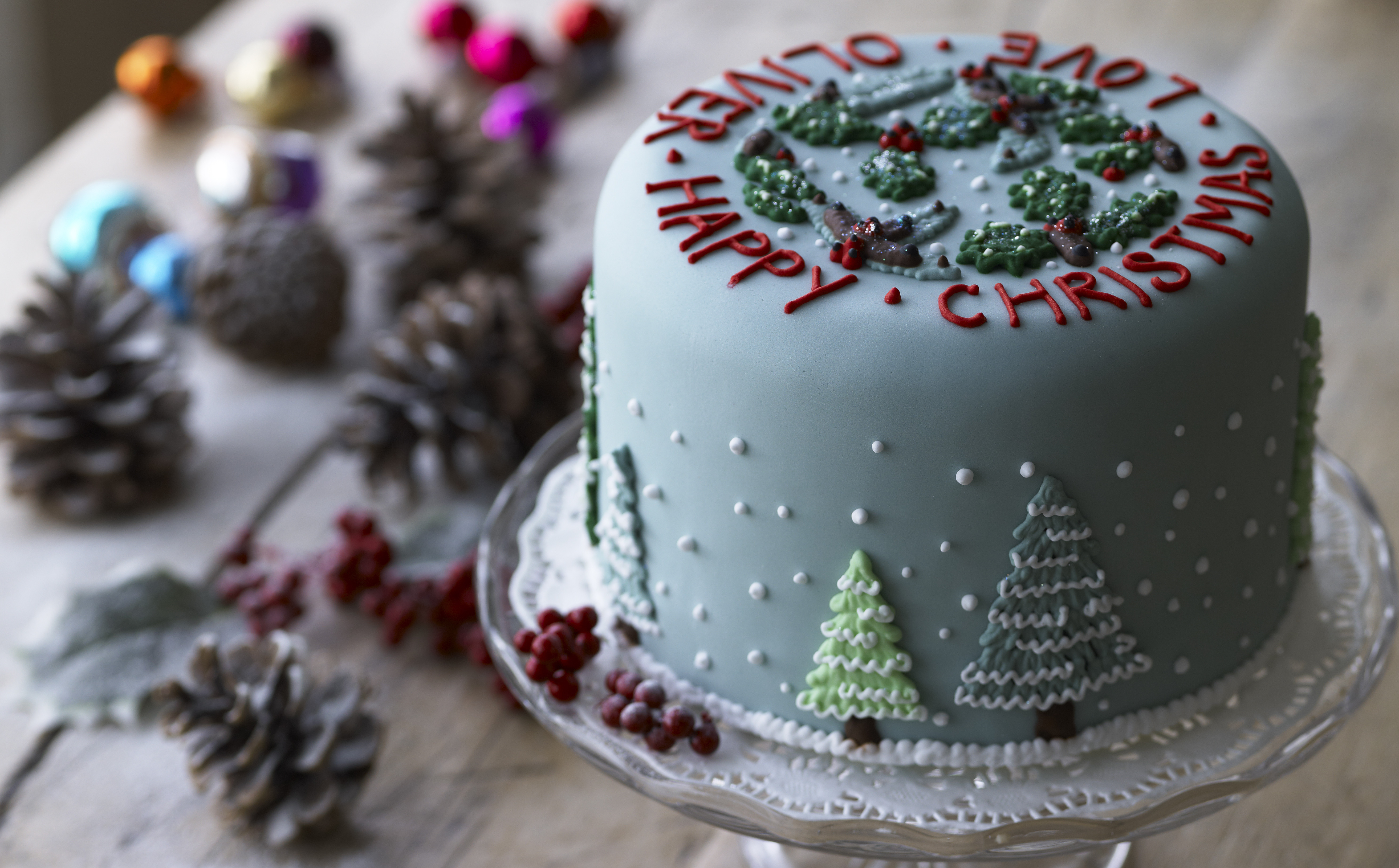 Picture Of Christmas Cakes  Christmas Cake Recipe