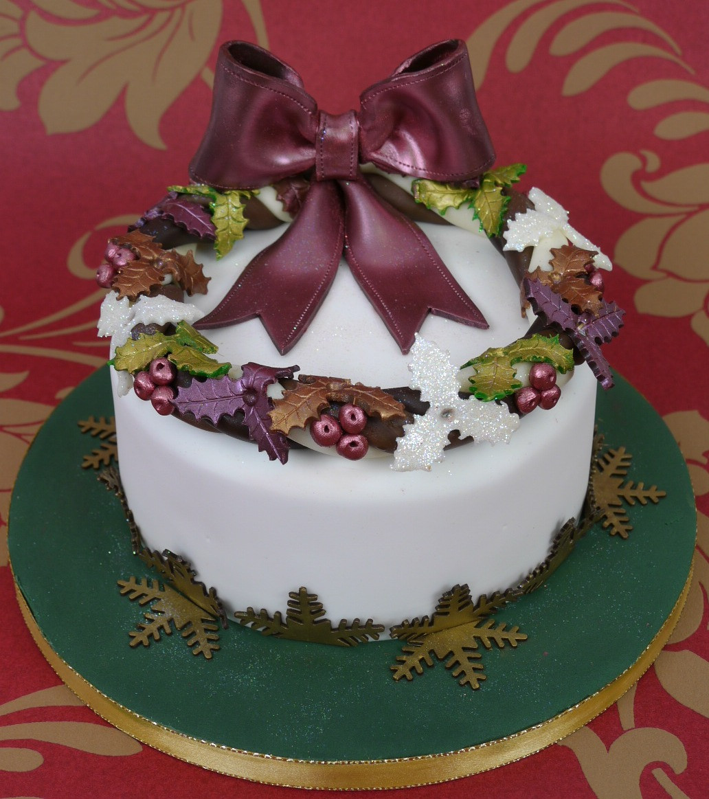 Picture Of Christmas Cakes  Traditional Christmas Cake Paul Bradford Sugarcraft School