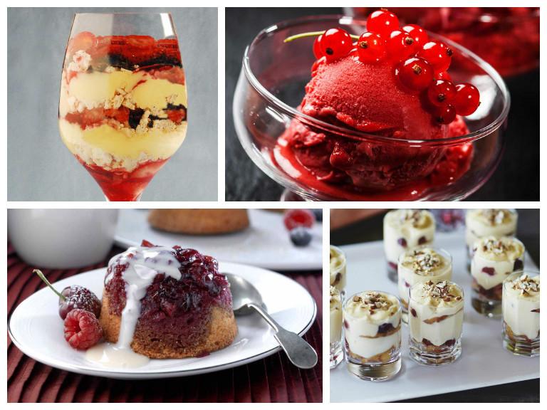 Pictures Of Christmas Desserts  Christmas dessert recipe ideas Saga