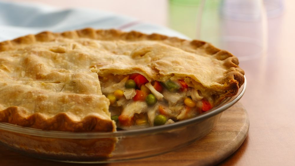 Pies To Make For Thanksgiving  Classic Turkey Pot Pie recipe from Pillsbury