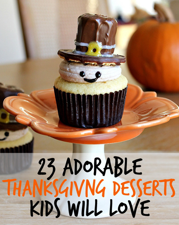 Pies To Make For Thanksgiving  23 Fun And Festive Thanksgiving Desserts That Kids Will Love