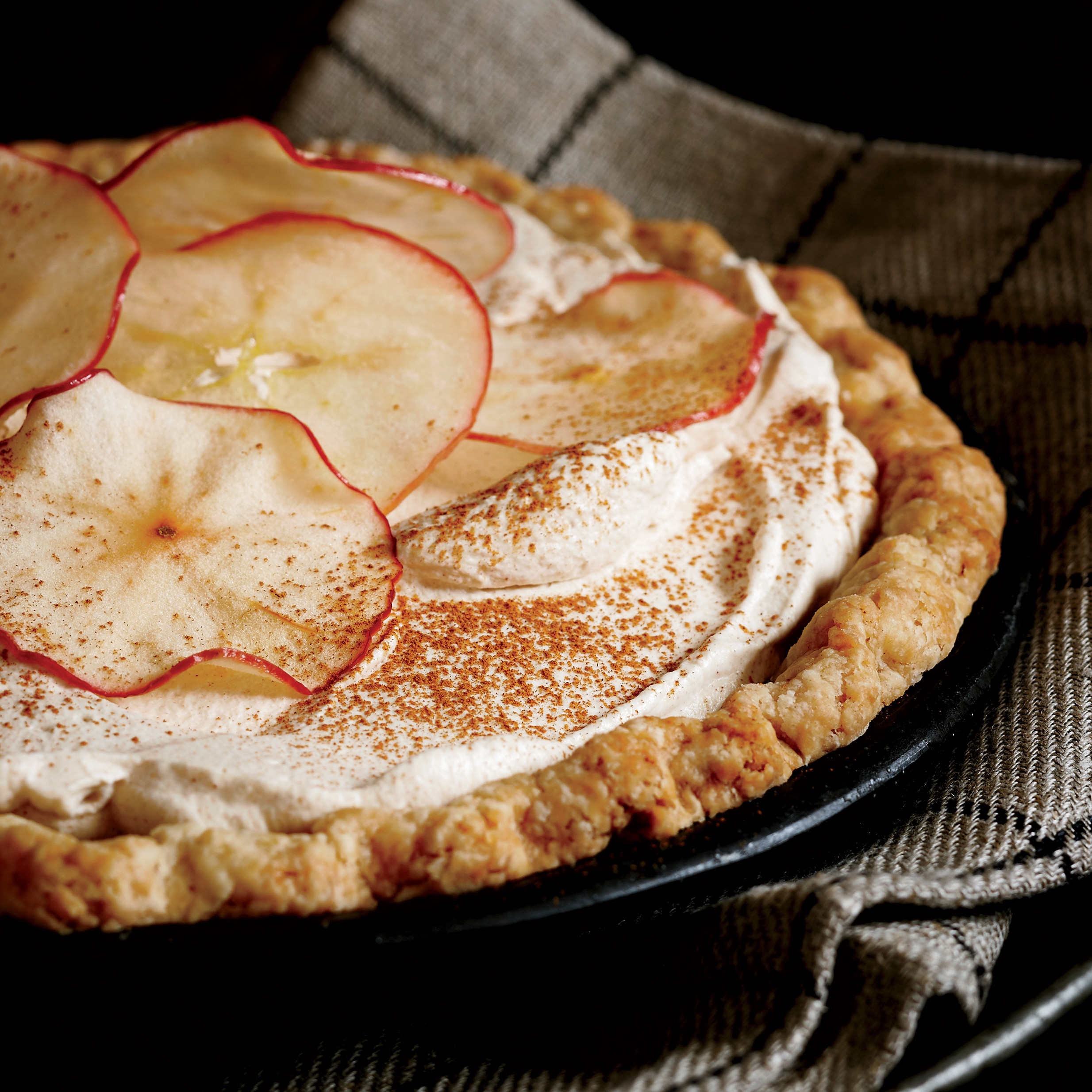 Pies To Make For Thanksgiving  Apple Cider Cream Pie Recipe Allison Kave
