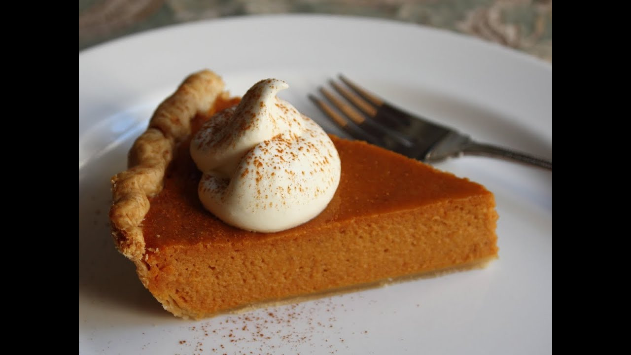 Pies To Make For Thanksgiving  Best Pumpkin Pie Ever Classic Thanksgiving Pumpkin Pie