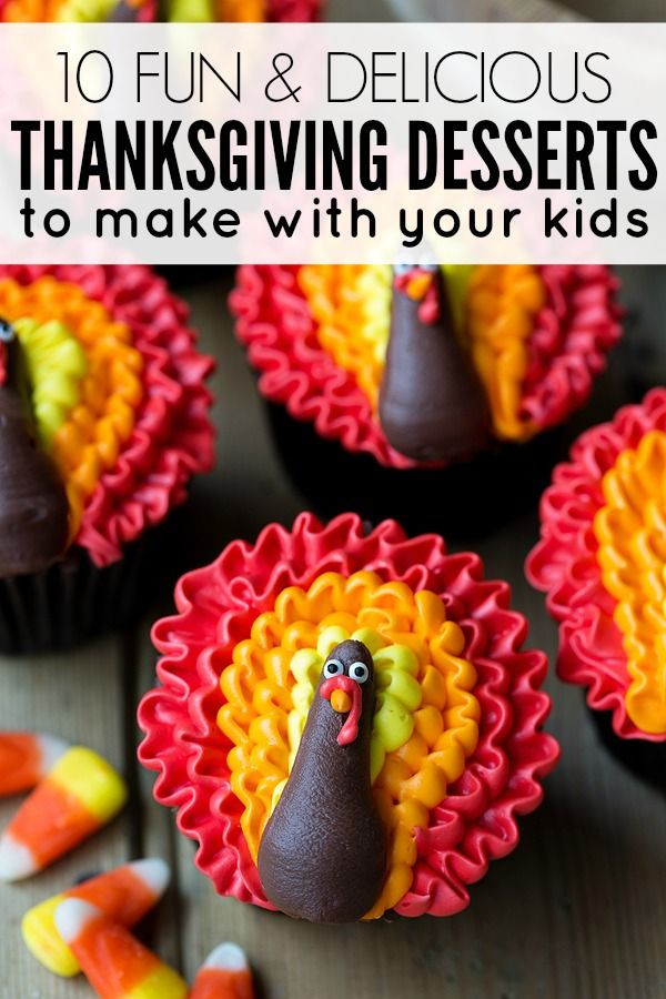 Pies To Make For Thanksgiving  Thanksgiving desserts to make with your kids